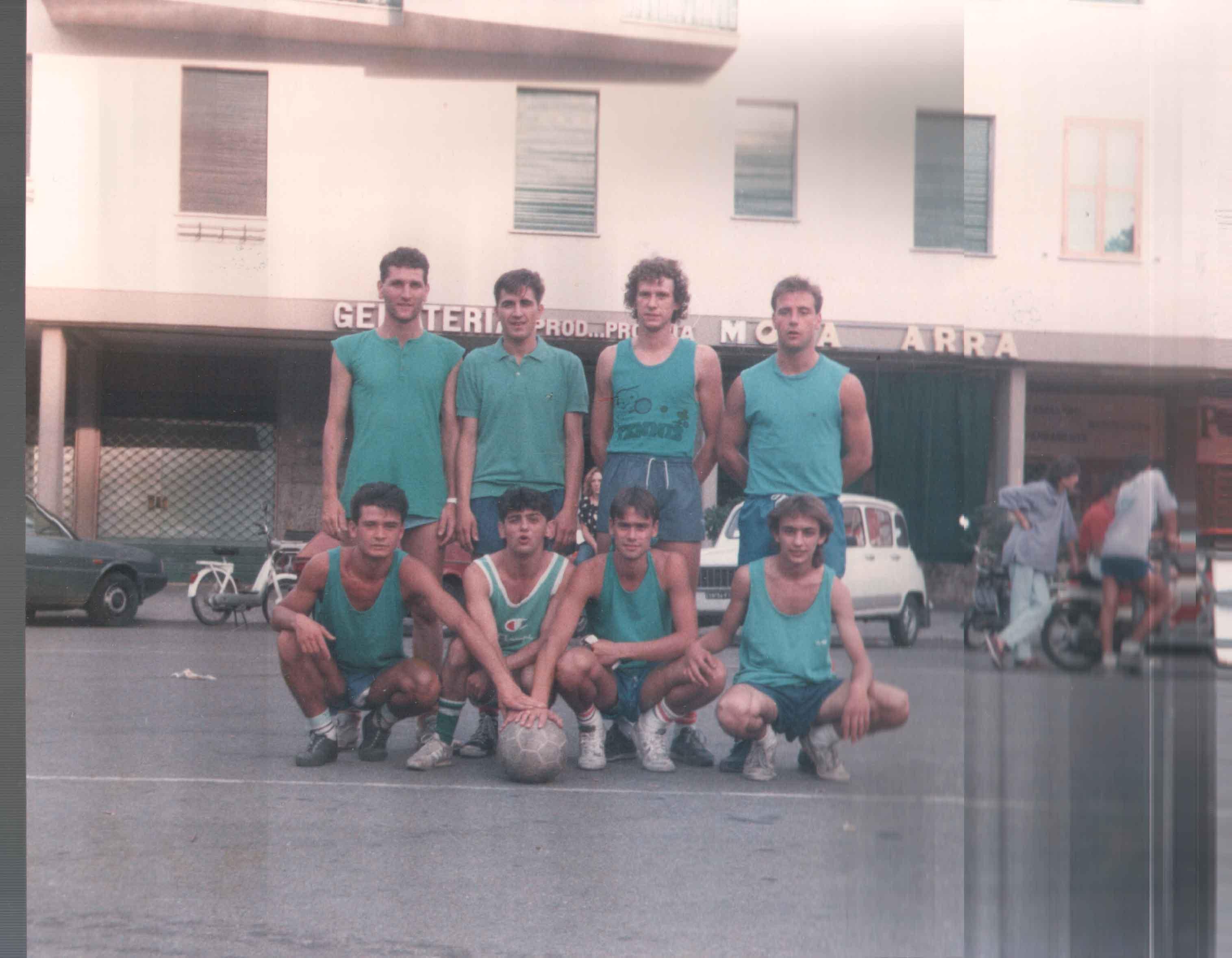 Formazione 1987
